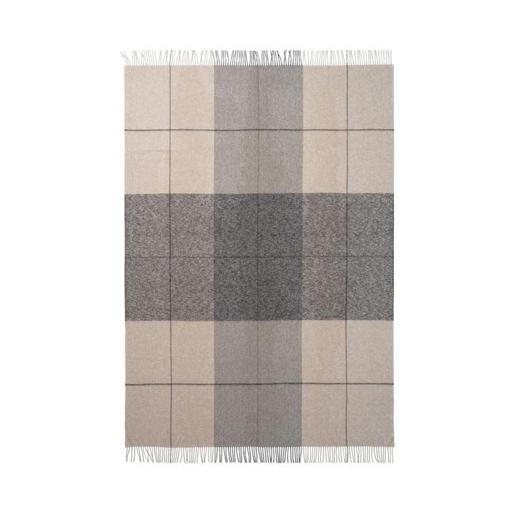 Blocks Decke 130 x 190 cm von Elvang in beige / braun