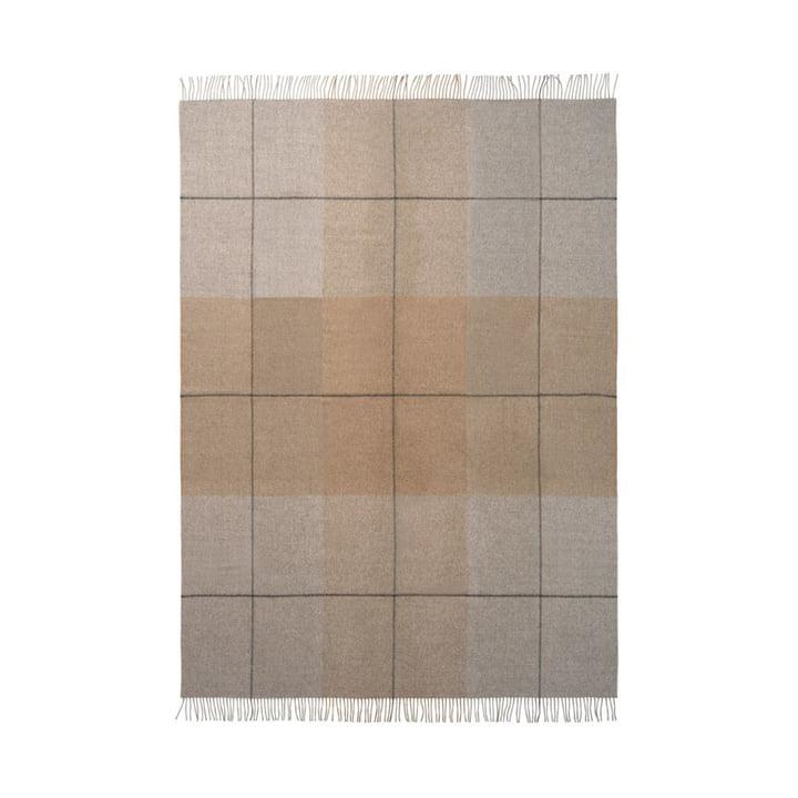 Blocks Decke 130 x 190 cm von Elvang in kamel / grau