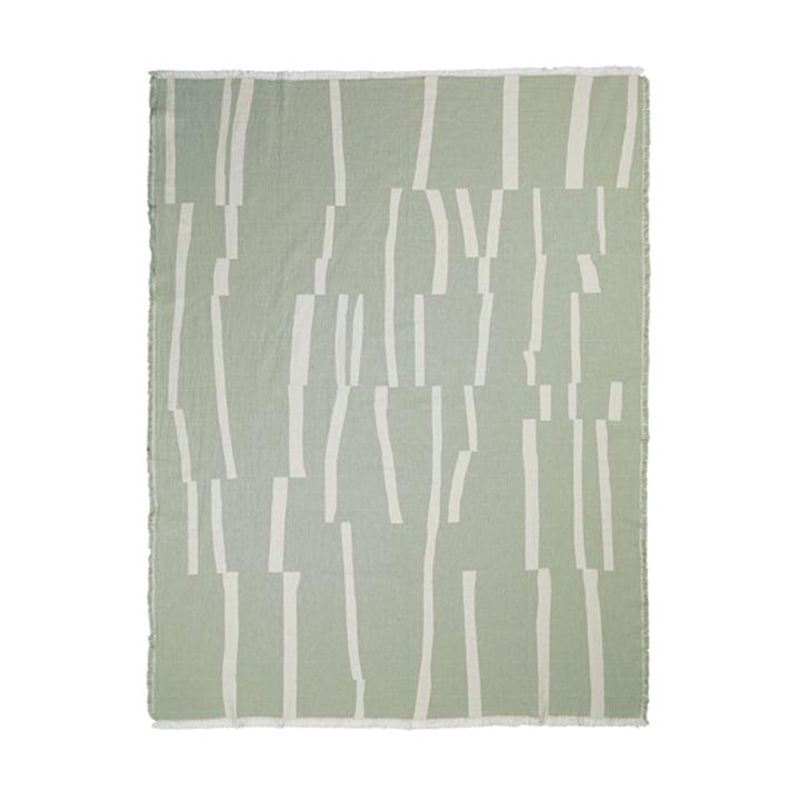 Lyme Grass Decke 130 x 180 cm von Elvang in grün