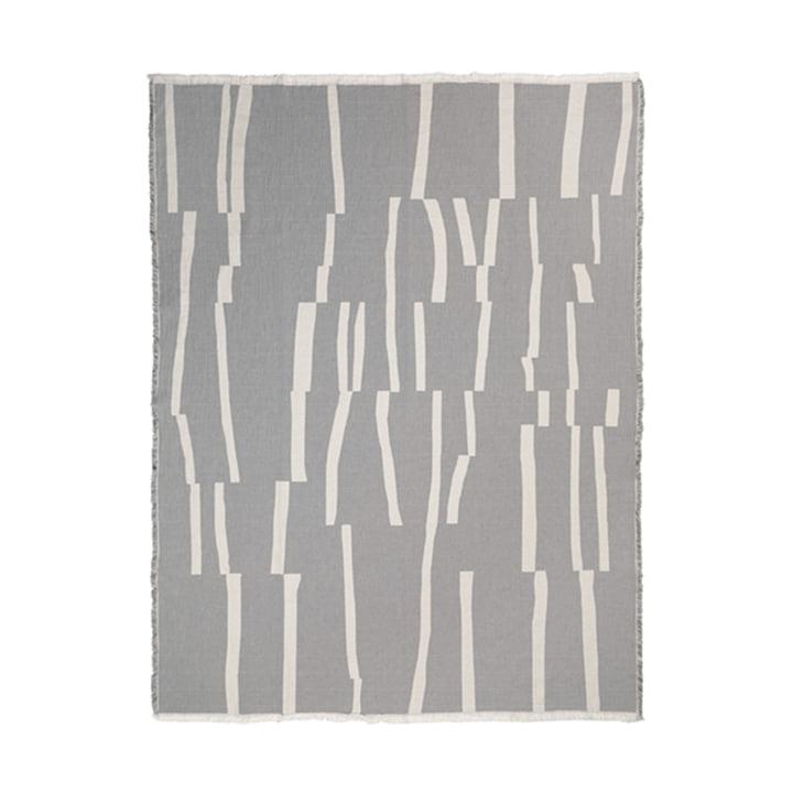 Lyme Grass Decke 130 x 180 cm von Elvang in grau