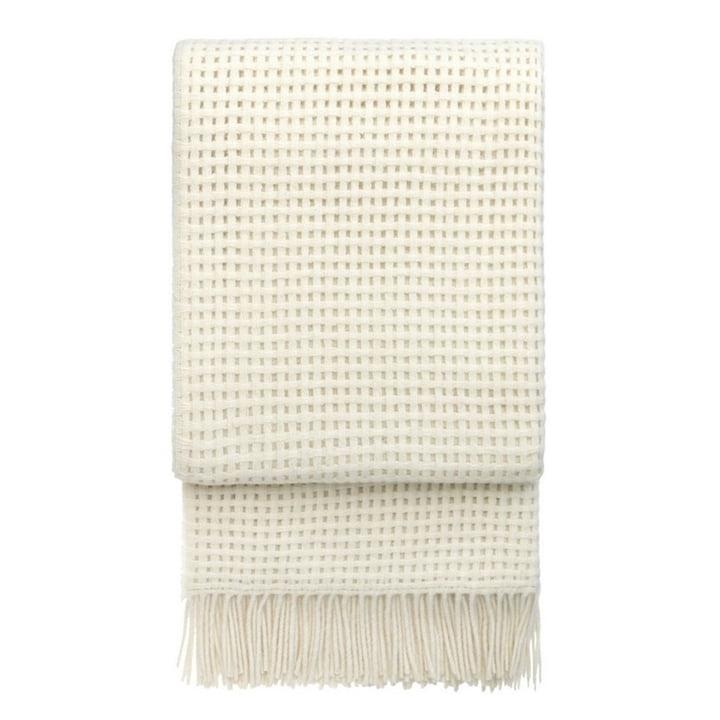 Basket Decke 130 x 200 cm von Elvang in off white