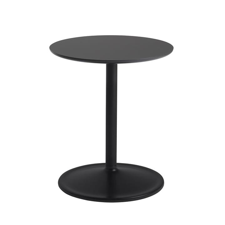 Soft Beistelltisch Ø 41 cm, H 48 cm von Muuto in schwarz