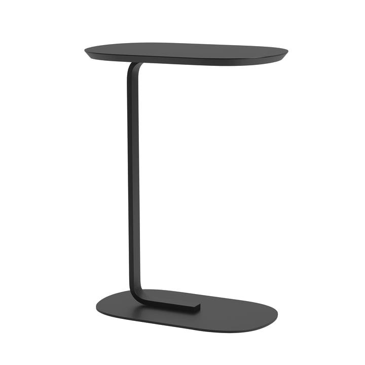Relate Side Table H 73,5 cm von Muuto in schwarz
