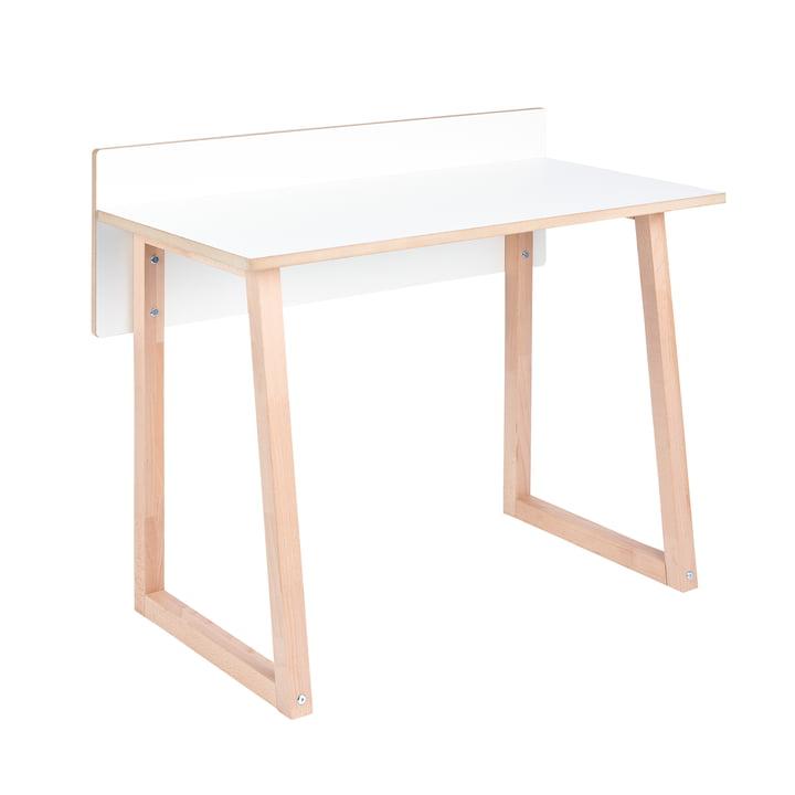 werk Kinder-Schreibtisch von Tojo in weiß / Buche