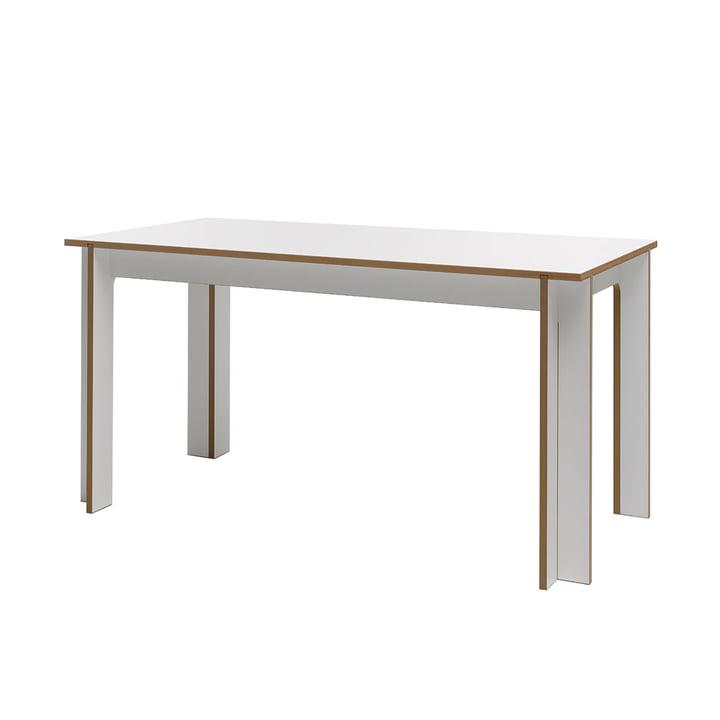 Tisch 150 x 75 cm von Tojo in weiß