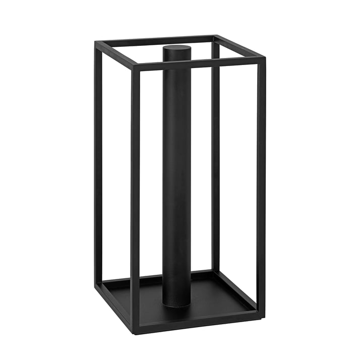 Roll'in Küchenrollenhalter von by Lassen in schwarz