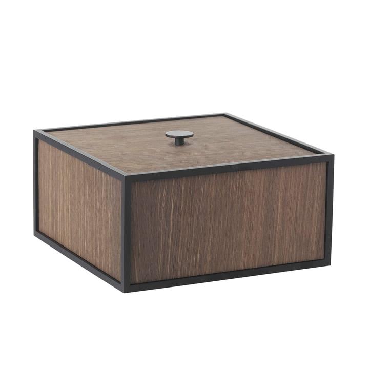 Frame Box 20 von by Lassen in geräucherte Eiche