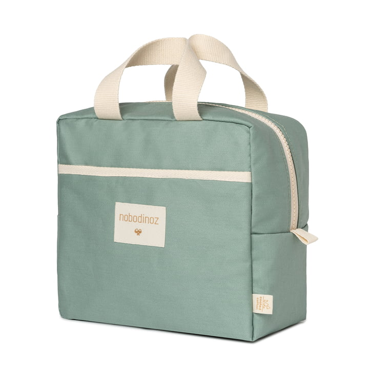 Die Sunshine Lunch Bag von Nobodinoz, eden green