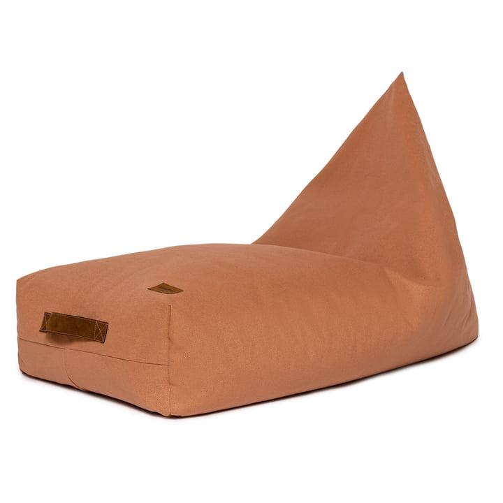 Der Oasis Kinder-Sitzsack von Nobodinoz, 109 x 53 cm, sienna brown
