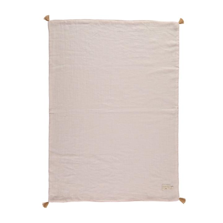 Die Treasure Leichte Decke von Nobodinoz, 70 x 100 cm, dream pink