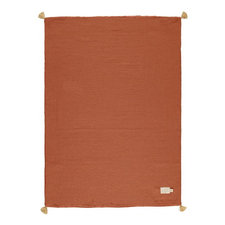 Die Treasure Leichte Decke von Nobodinoz, 70 x 100 cm, toffee