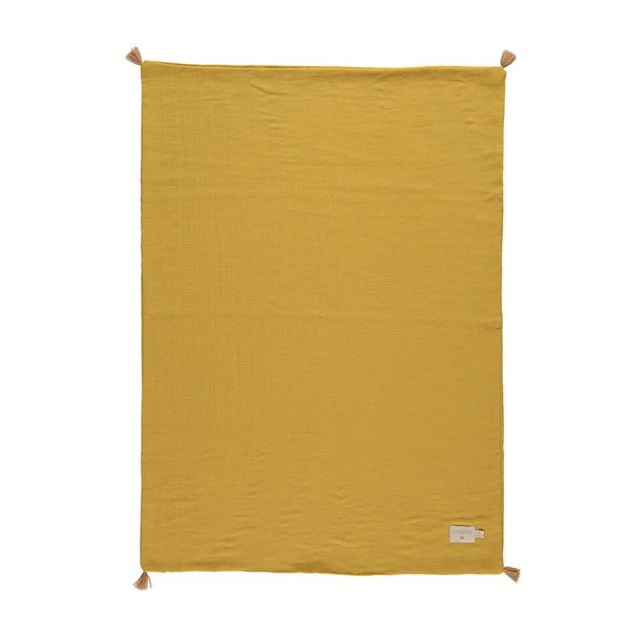 Die Treasure Leichte Decke von Nobodinoz, 70 x 100 cm, farniente yellow