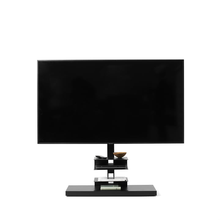 Ptolomeo TV Smart TV-Ständer von Opinion Ciatti in matt schwarz
