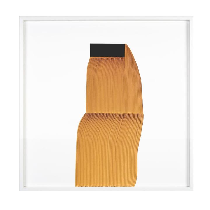 Drawing 11 Poster mit Rahmen 69,5 x 69,5 cm von The Wrong Shop in hellbraun