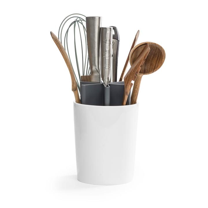 Der Angle Küchen Organizer von Born in Sweden, grau / weiß glänzend