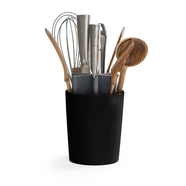 Der Angle Küchen Organizer von Born in Sweden, grau / schwarz matt
