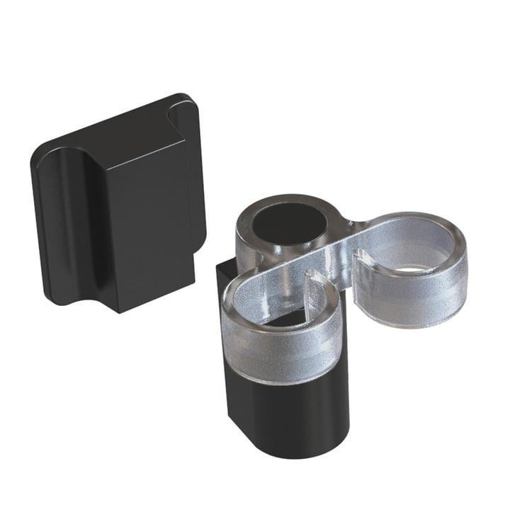 Der Spülbürstenhalter von Happy Sinks by Magisso, pure black