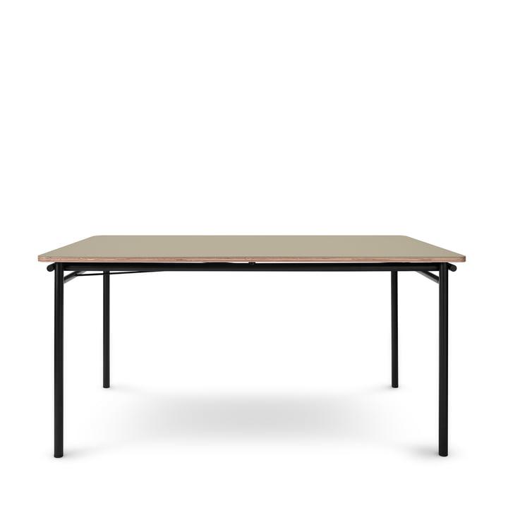 Der Taffel Esstisch (ausziehbar) von Eva Solo, 90 x 150-210 cm, pebble