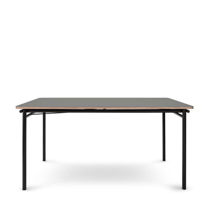 Der Taffel Esstisch (ausziehbar) von Eva Solo, 90 x 150-210 cm, ash