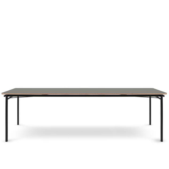 Der Taffel Esstisch (ausziehbar) von Eva Solo, 90 x 250-370 cm, ash