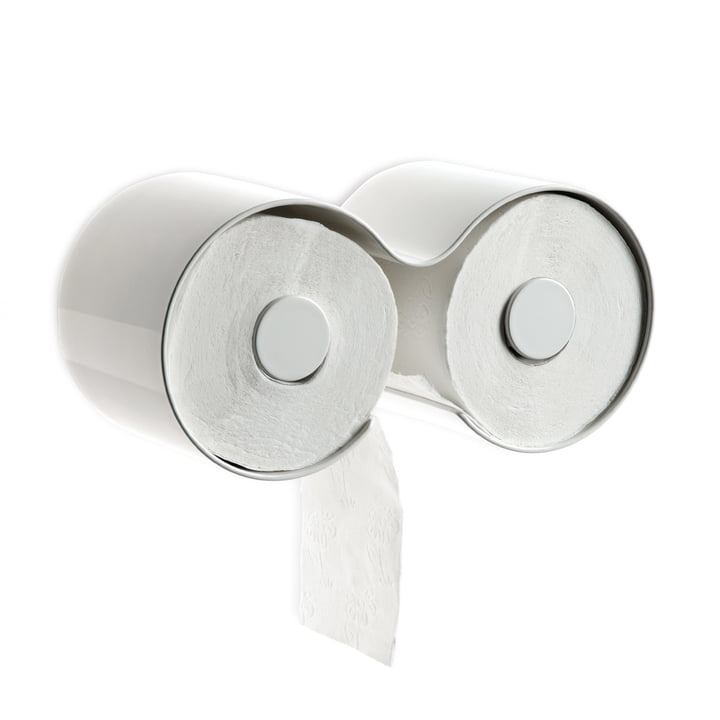 Der Kali WC-Rollenhalter vonDepot4Design, weiß