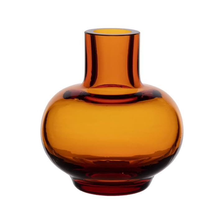 Mini Vase von Marimekko in der Farbe amber