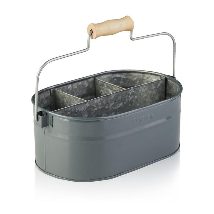 Der Utensilien Behälter von Humdakin, 30 x 19 x 13 cm, grau