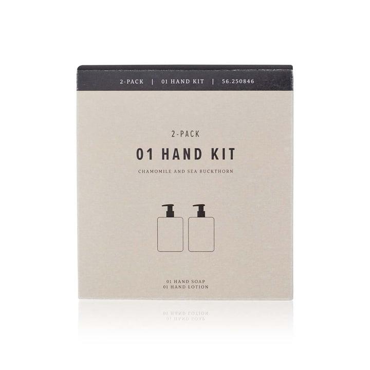 Das Handpflege Set von Humdakin, 2x 300 ml, Kamille und Sanddorn