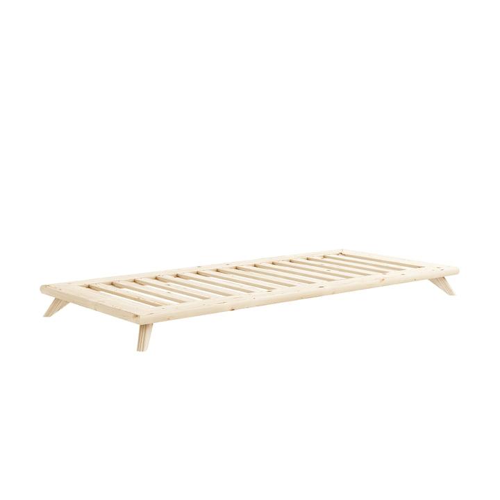 Senza Bett 90 x 200 cm von Karup Design in Kiefer natur
