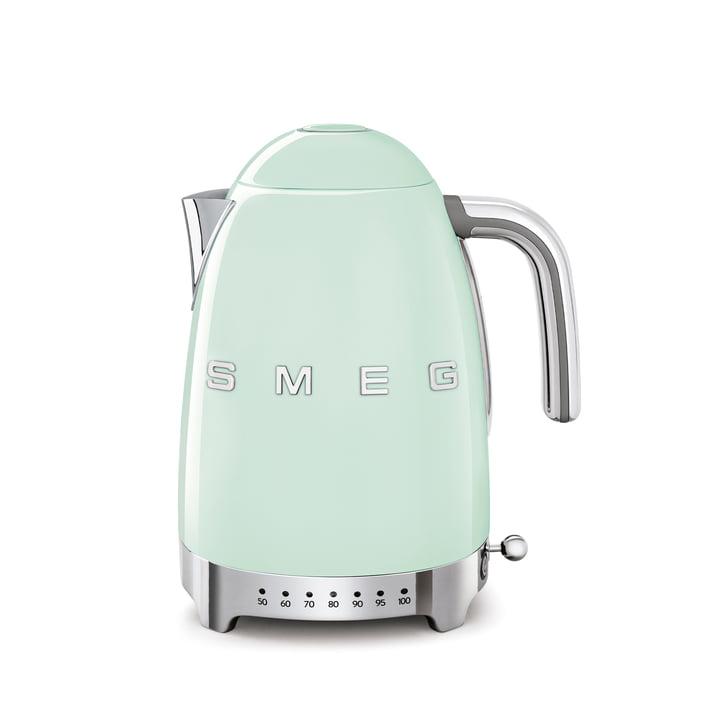 Wasserkocher KLF04 (variable Temperatursteuerung), 1,7 l von Smeg in pastellgrün