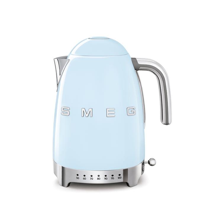 Wasserkocher KLF04 (variable Temperatursteuerung), 1,7 l von Smeg in pastellblau