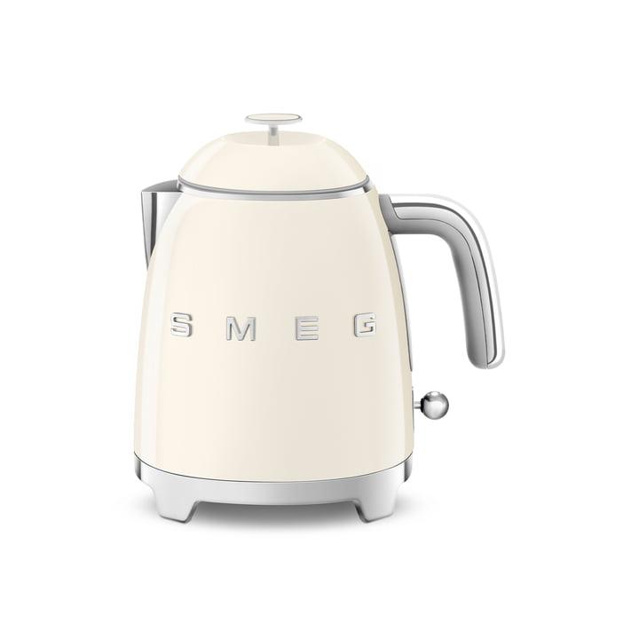 Mini-Wasserkocher KLF05 im 50's Retro Style von Smeg in creme