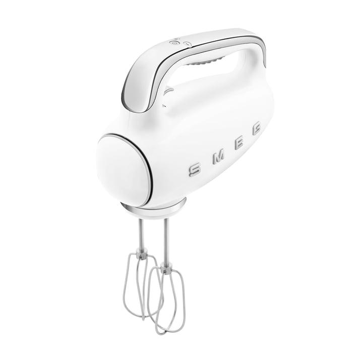 Handmixer HMF01, 50's Retro Style von Smeg in weiß