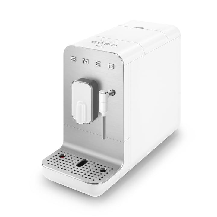 Kaffeevollautomat BCC02 Medium 50's Retro Style von Smeg in weiß matt