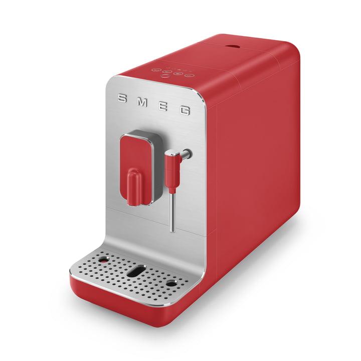 Kaffeevollautomat BCC02 Medium im 50's Retro Style von Smeg in rot matt