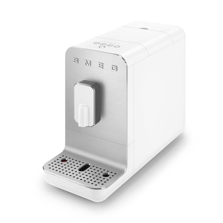 Kaffeevollautomat BCC01 Basic 50's Retro Style von Smeg in weiß matt