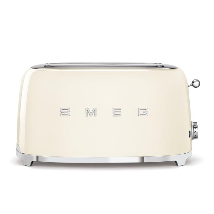 2-Schlitz ToasterTSF02, lang von Smeg in creme