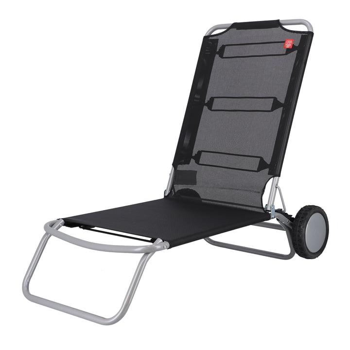 Fiam - Wheely Strandstuhl, schwarz