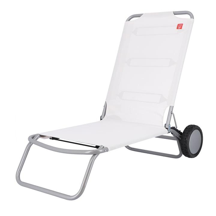 Fiam - Wheely Strandstuhl, weiß
