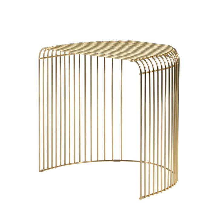 Der Curva Beistelltisch von AYTM, gold