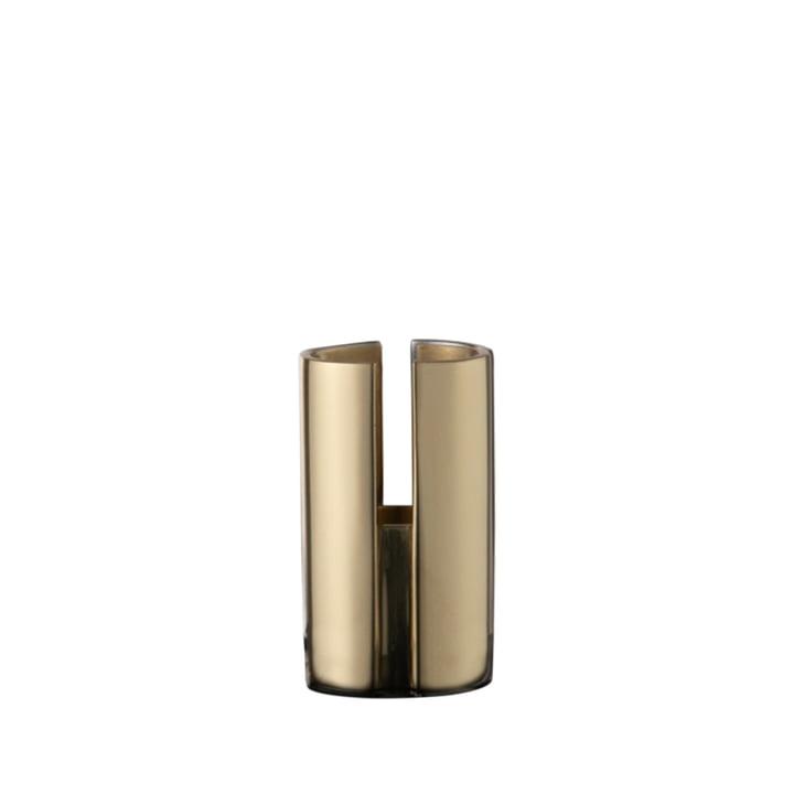 Der Sol Kerzenhalter von AYTM, Ø 2,9 x H 4,8 cm, gold