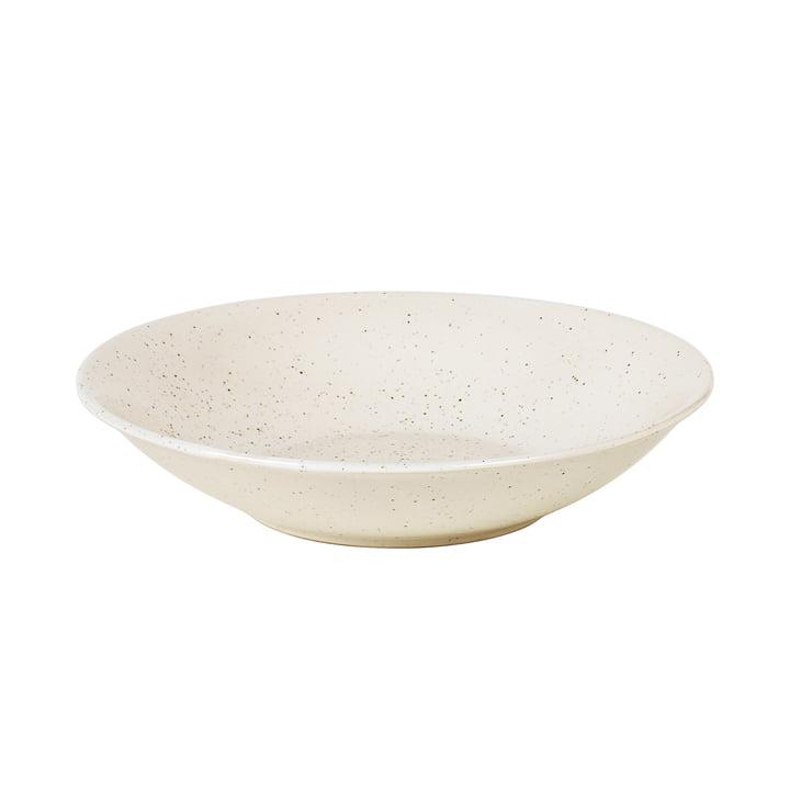 Nordic Vanilla Teller tief, Ø 22,5 x H 5 cm von Broste Copenhagen