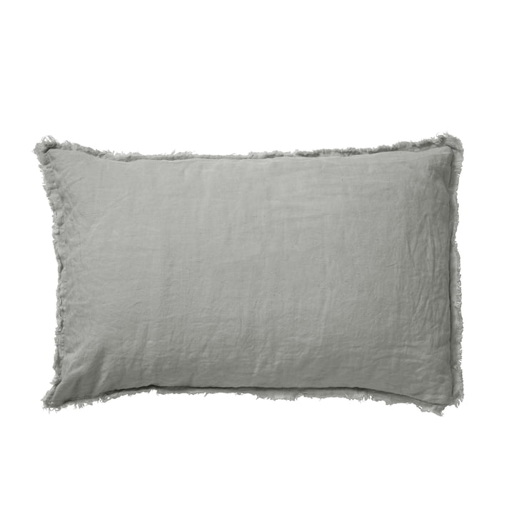 Malaga Kissenbezug 40 x 60 cm, mud von Passion for Linen