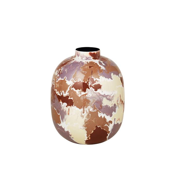 Die Thyra Vase von Broste Copenhagen, Ø 25 x H 31 cm, mix light color