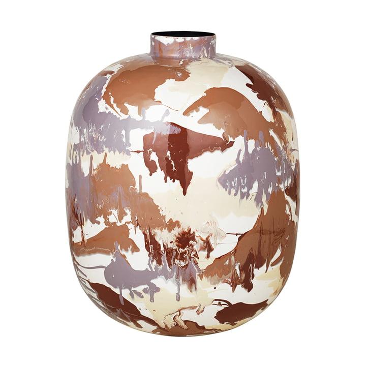Die Thyra Vase von Broste Copenhagen, Ø 40 x H 50 cm, mix light color