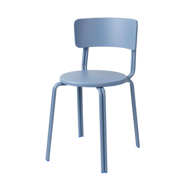 Oda Stuhl von Broste Copenhagen in blau