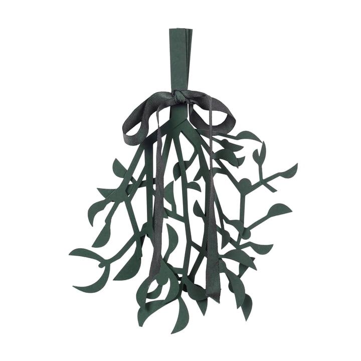 Broste Copenhagen - Christmas Mistletoe Deko-Anhänger, deep forest