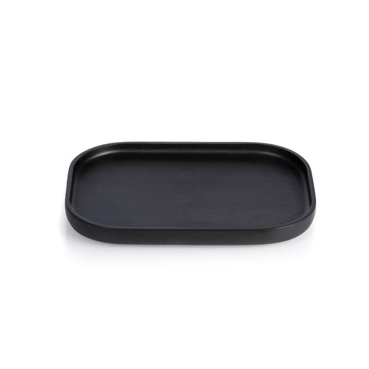 Nero Tablett Small, rechteckig, schwarz von XLBoom