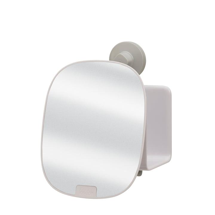 EasyStore Duschablage mit verstellbarem Spiegel kompakt von Joseph Joseph in weiß