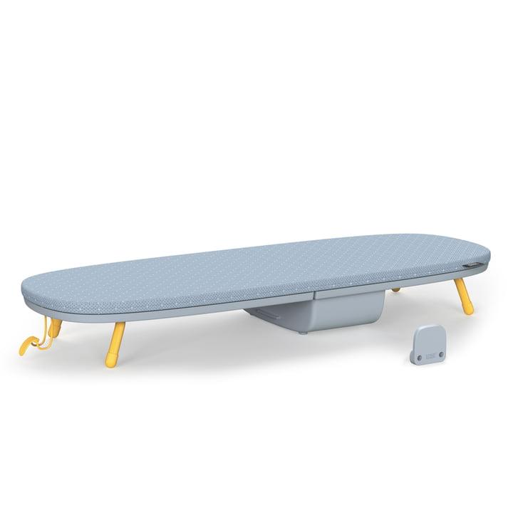 Glide Pocket Tisch-Bügelbrett von Joseph Joseph in grau / gelb